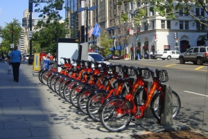 DC Capital bike share!