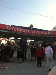 Nationals game!